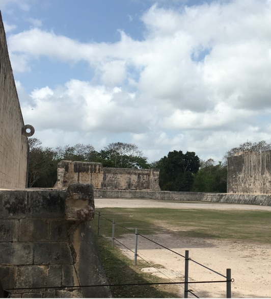 Campo da Pelota em Tchichen Itzá