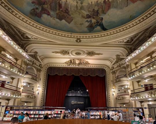Livraria El Ateneo em Recoleta - Buenos Aires