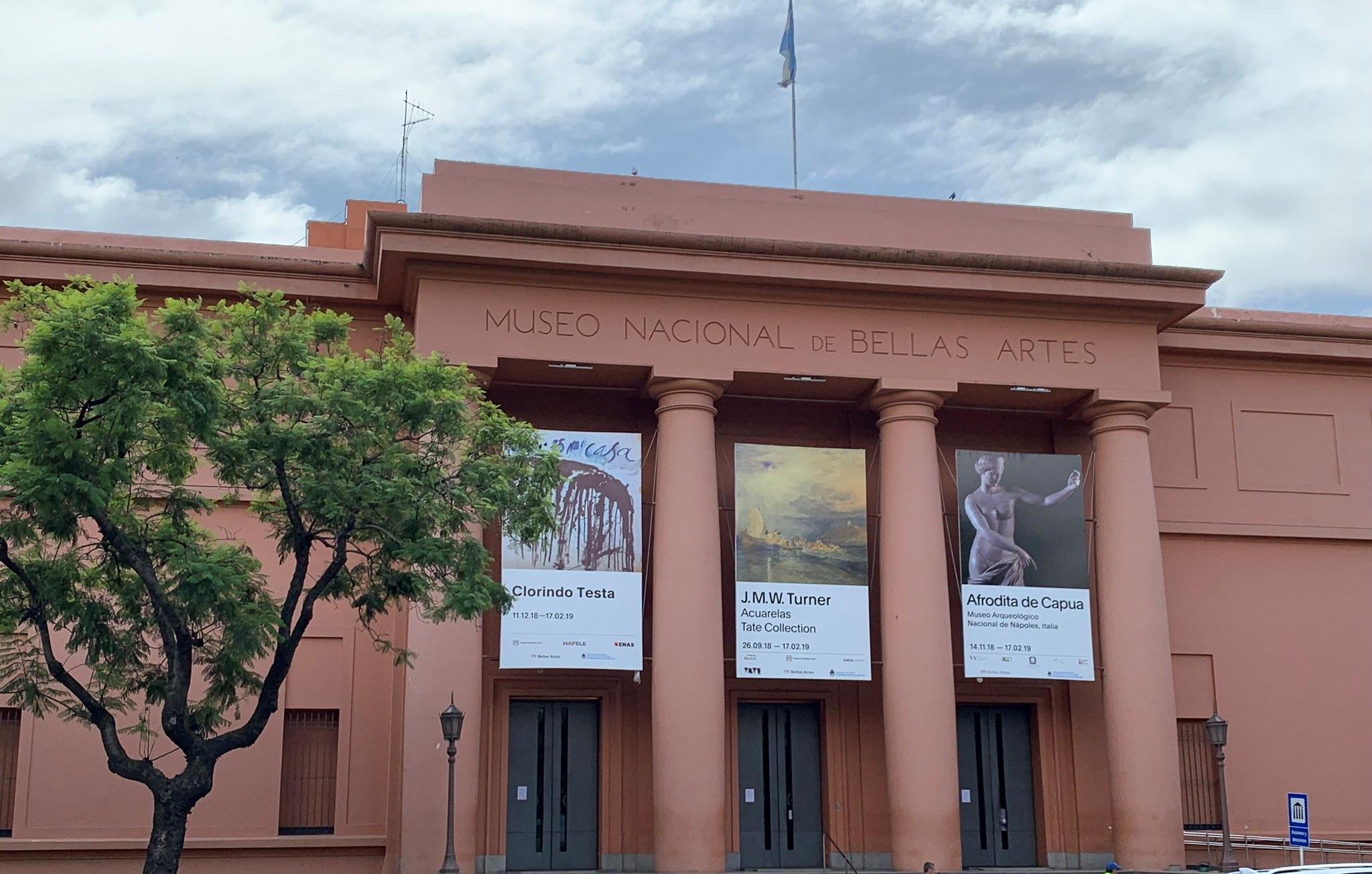 Museu de Belas Artes - Recoleta - Buenos Aires