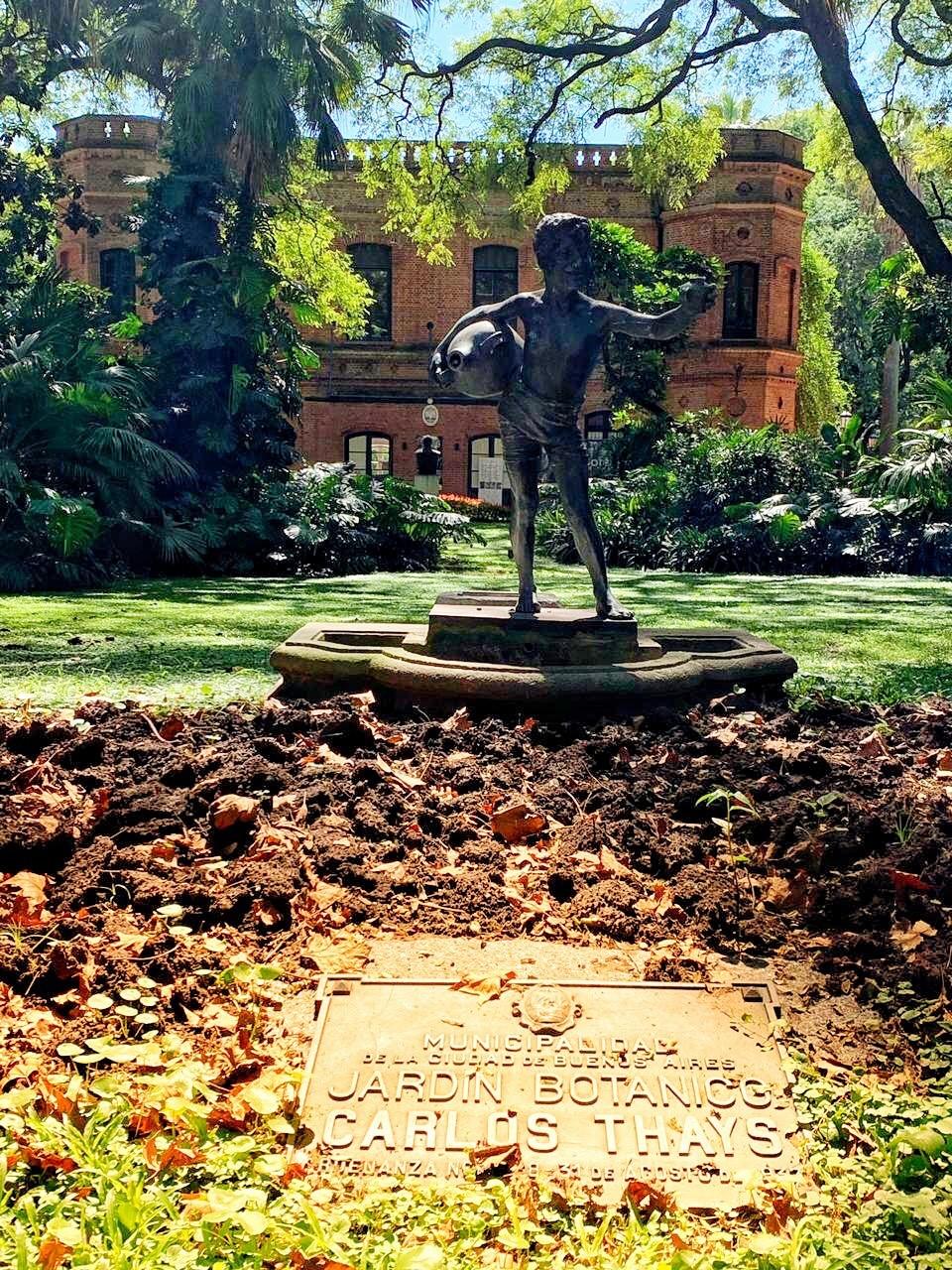 Jardim Botânico no bairro de Palermo - Buenos Aires.JPEG