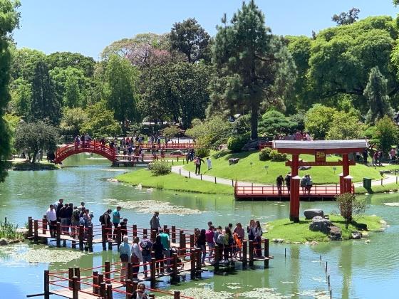 Jardim Japonês em Palermo - Buenos Aires