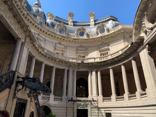 Pátio interno Palácio San Martin